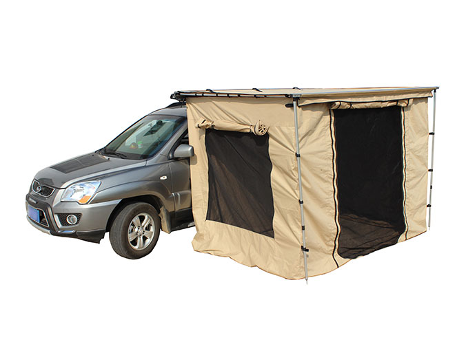 Pull Out Awning Change Room