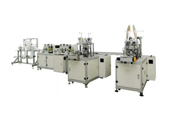 Fully Auto Outside Mask Making Machine(1+2)