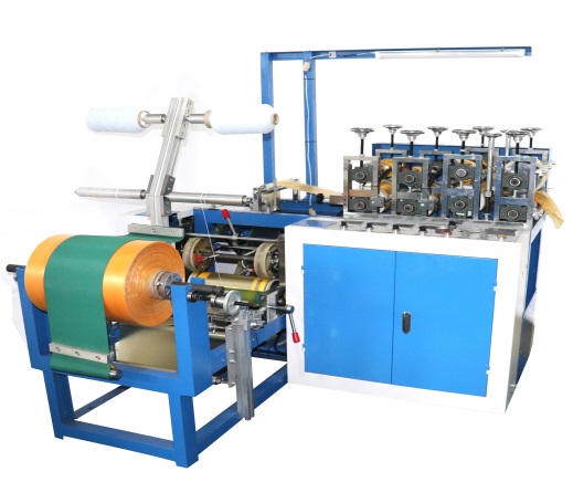 PE plastic shoe cover machine