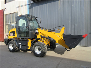 Cheap mini loader with price small wheel loader for farm