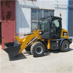 Multi purpose mini wheel loader with bucket farm mini tractor