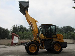China small mini wheel loader with electric joystick option for sale