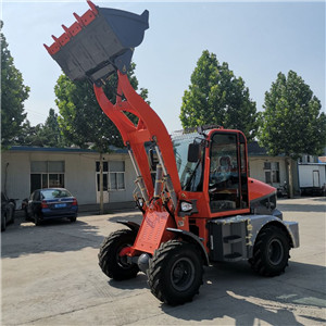 China front end loader hydraulic payloader prices