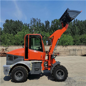 Building equipments construction wheel loader mini track front end  loader