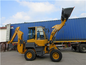 China manufacturer cheap new mini wheel loaders and backhoe