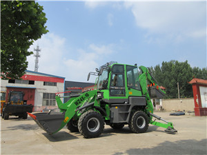 Mini excavator backhoe loader with price for sale