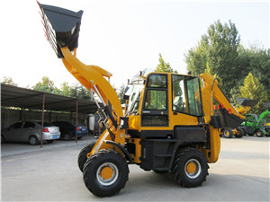WZ45-16 Tractor backhoe loader with attachments option
