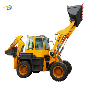 Towable backhoe loader mini loader and excavator for sale