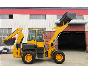 Wheel loader excavator cheap backhoe mini digger loader