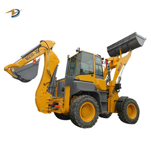 Towable mini backhoe loader excavator loader