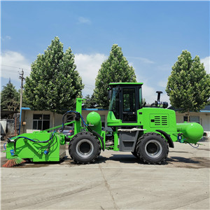 Outdoor push sweeper trucks snow sweeper