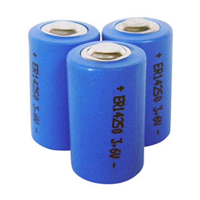 ER14250 primary lithium battery LiSOCL2 3.6V 1200mAh 1/2AA