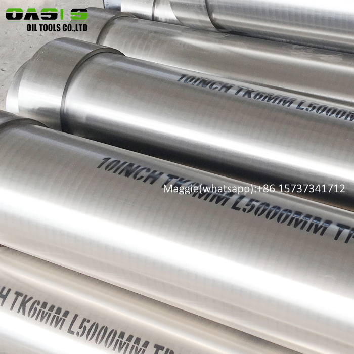 OASIS stainless steel casing welded ERW tubes