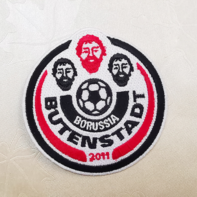 Football cool Embroidery patches for jeans,Football cool Embroidery patches supplier,Patches,Embroidered patches