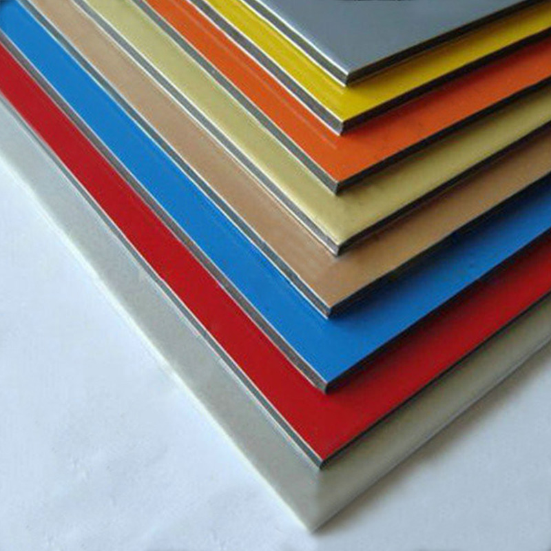 Factory Supply Directly Wall Covering Aluminium Composite Panel Cladding with good selling for advertising board