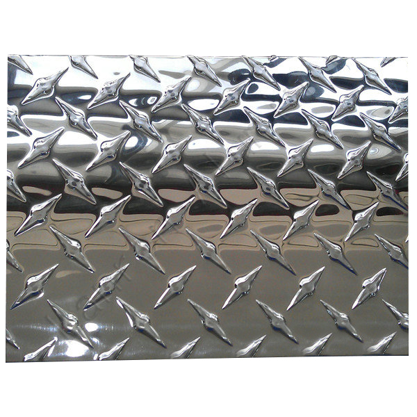 1100 H12,H14,H16,H18 decorative pattern aluminum sheet/plate for suitcase floor decoration