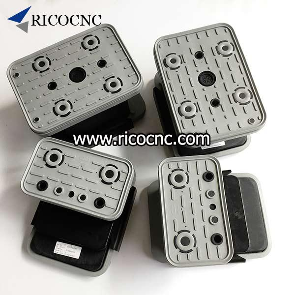 CNC Vacuum Suction Cup Block Pods for PTP CNC Processing Machines