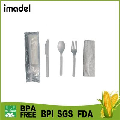 Biodegradable Cutlery Kit