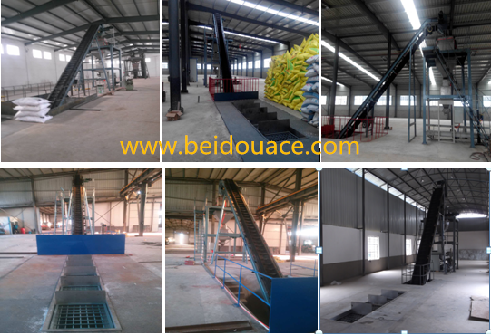 Floor-batching Fertilizer Blending Line