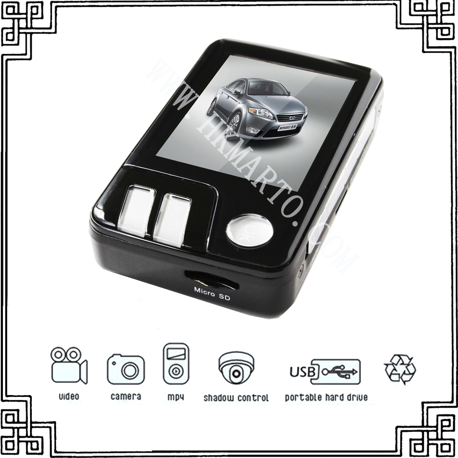 T101 mini car black box/car video recorder