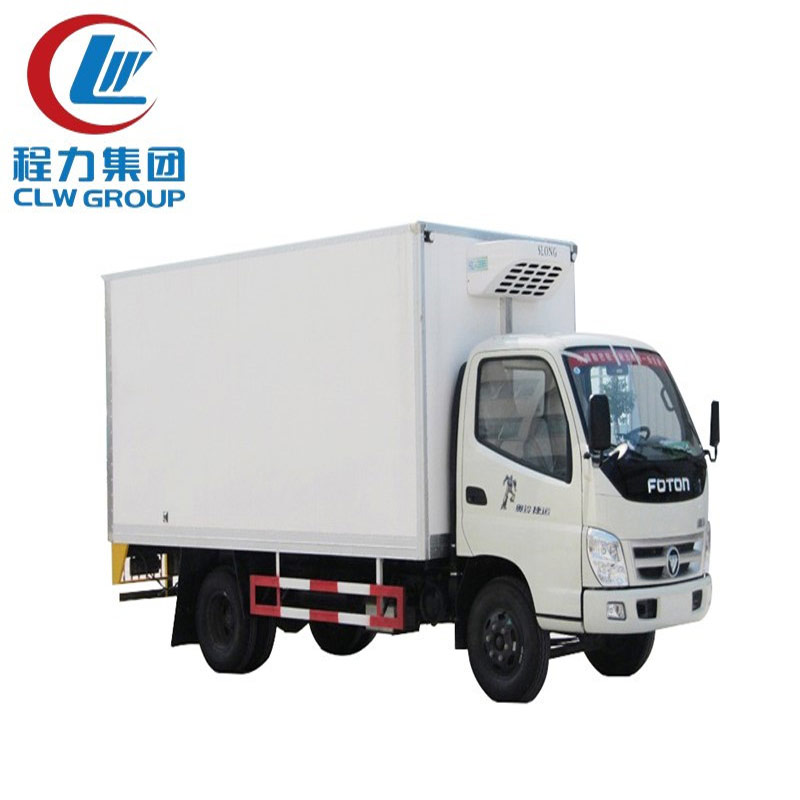10 Ton Frozen Food Refrigerated Trucks