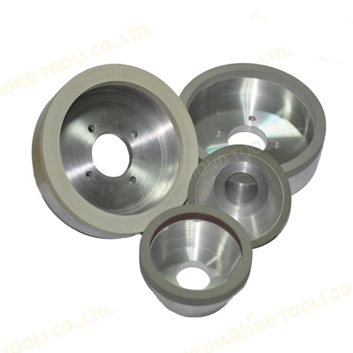 Vitrified diamond grinding wheels