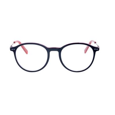 Acetate Eyeglasses Colorful Round Shape Model