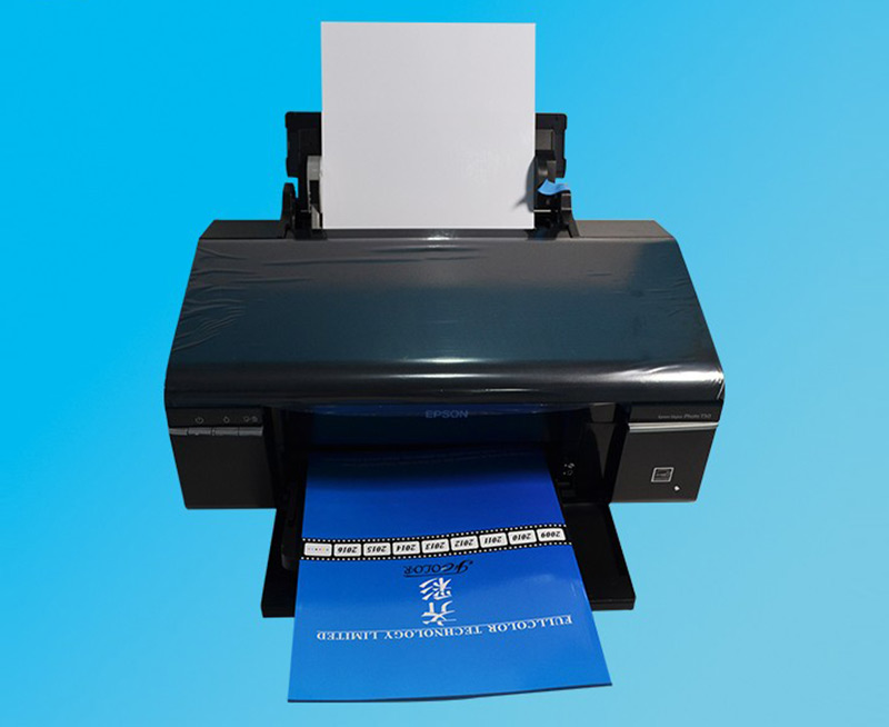 Roll Digital Color Waterproof Printer Machine