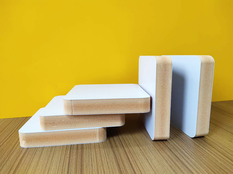 WPC Co-extruded Foam Sheet / 9mm 0.60 density         WPC CO-EXTRUDED FOAM SHEET