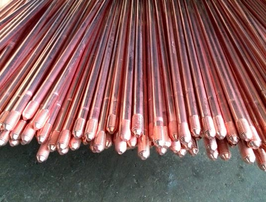 What is the copperweld ground rod/ copper bonded earth rod?
