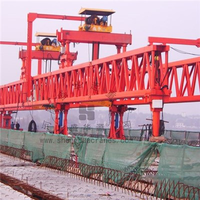 Beam Launcher For Highway And Railway Construction