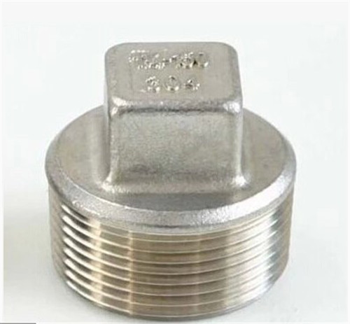 High Performance factory price hot sale Stainless steel Square Plug