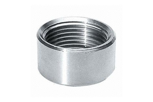 customized high quality hot sale Stainless steel Half Coupling O.D Machined