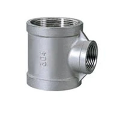 Butt welding Seamless pipe Pipe joint Stainless steel reducing Tee