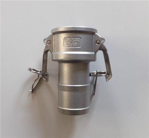 China  high pressure good quality Stainless steel Camlock coupling Type C manufacture
