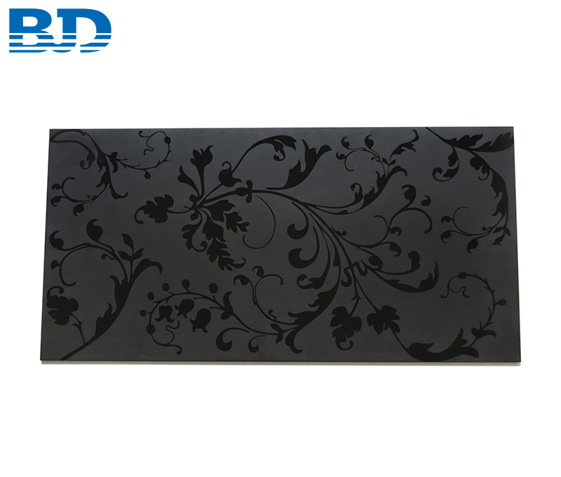 Floral Glass Splashback