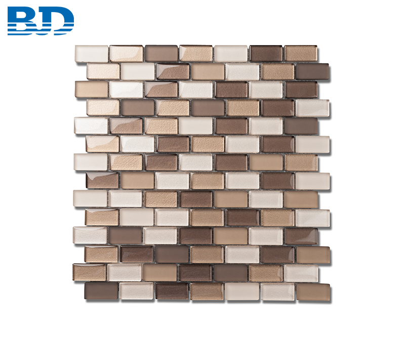 Offset Glass Mosaic