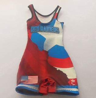 Superman Wrestling Singlets