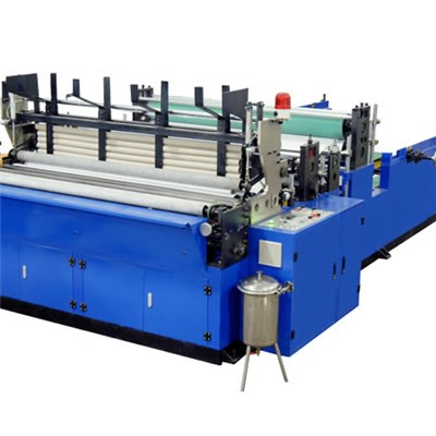 HX-1575B Single Embossing Toilet Paper Production Line