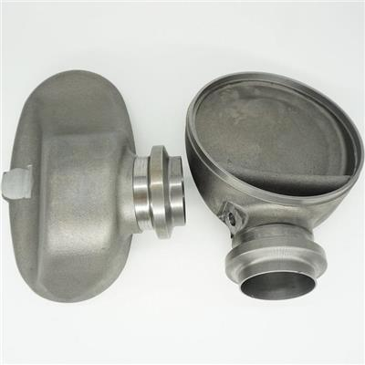 Exhaust System Sand Casting Outlet Cone