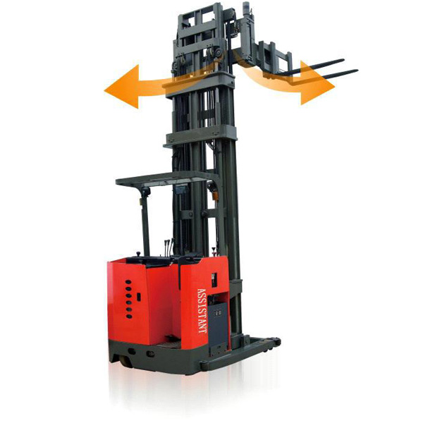 3-Way Electric Pallet Stacker