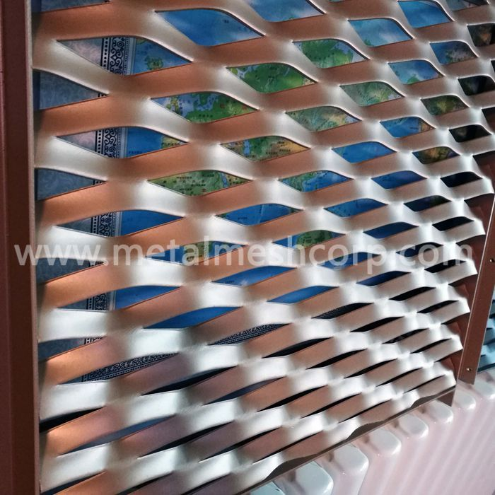 Aluminum Expanded Metal Mesh Facade