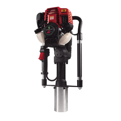 DPD-65 4-STROKE GUARDRAIL POST DRIVER GAS POWERED PORTABLE PILE DRIVER