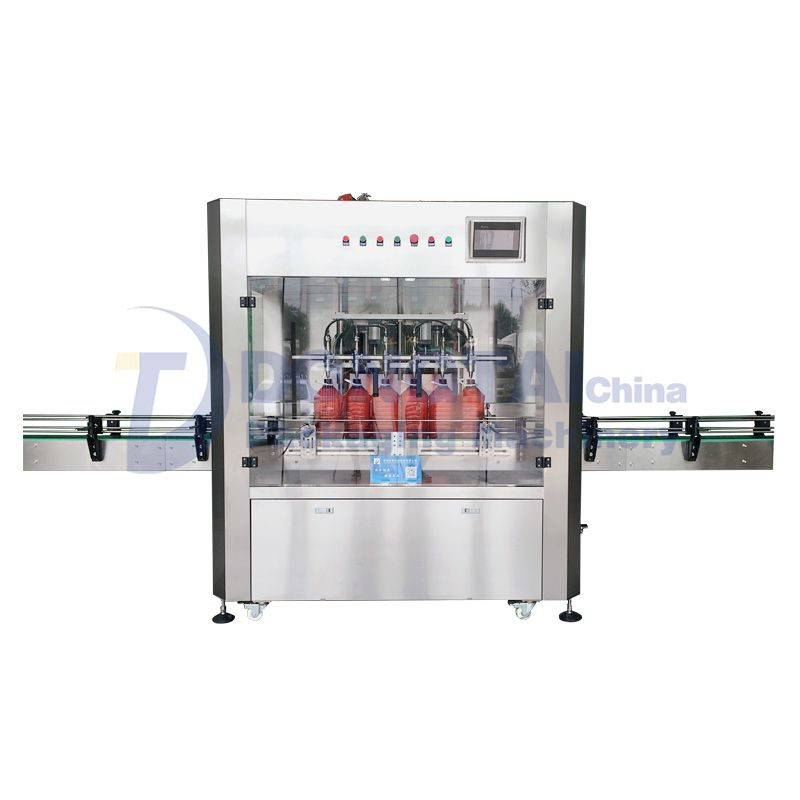 Cooking Oil Filling Machine  Automatic weighing edible oil filling machine  Cooking Oil Filling Machine supplier