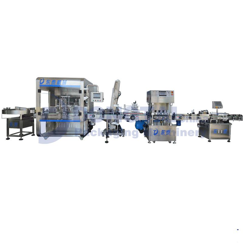 Thick Sauce/Paste Filling and Capping machine Sauce Filling Machine  Paste Filling  Machine