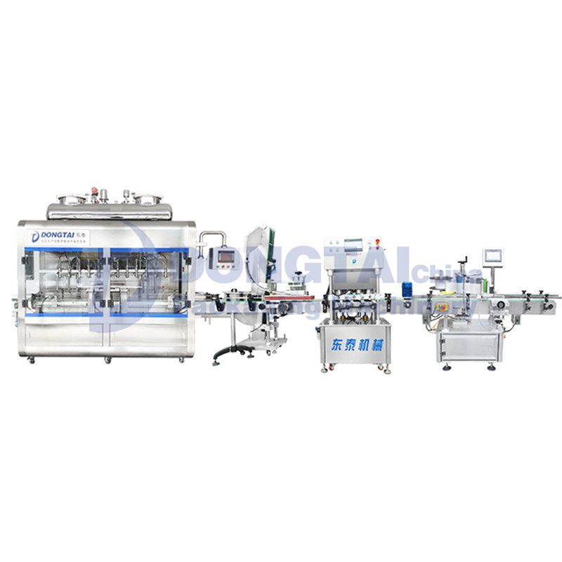 Sauce Filling Machines And Production Line For Chili Sauce /Tomato Sauce/Bbq Sauce Bottled Filling Machine