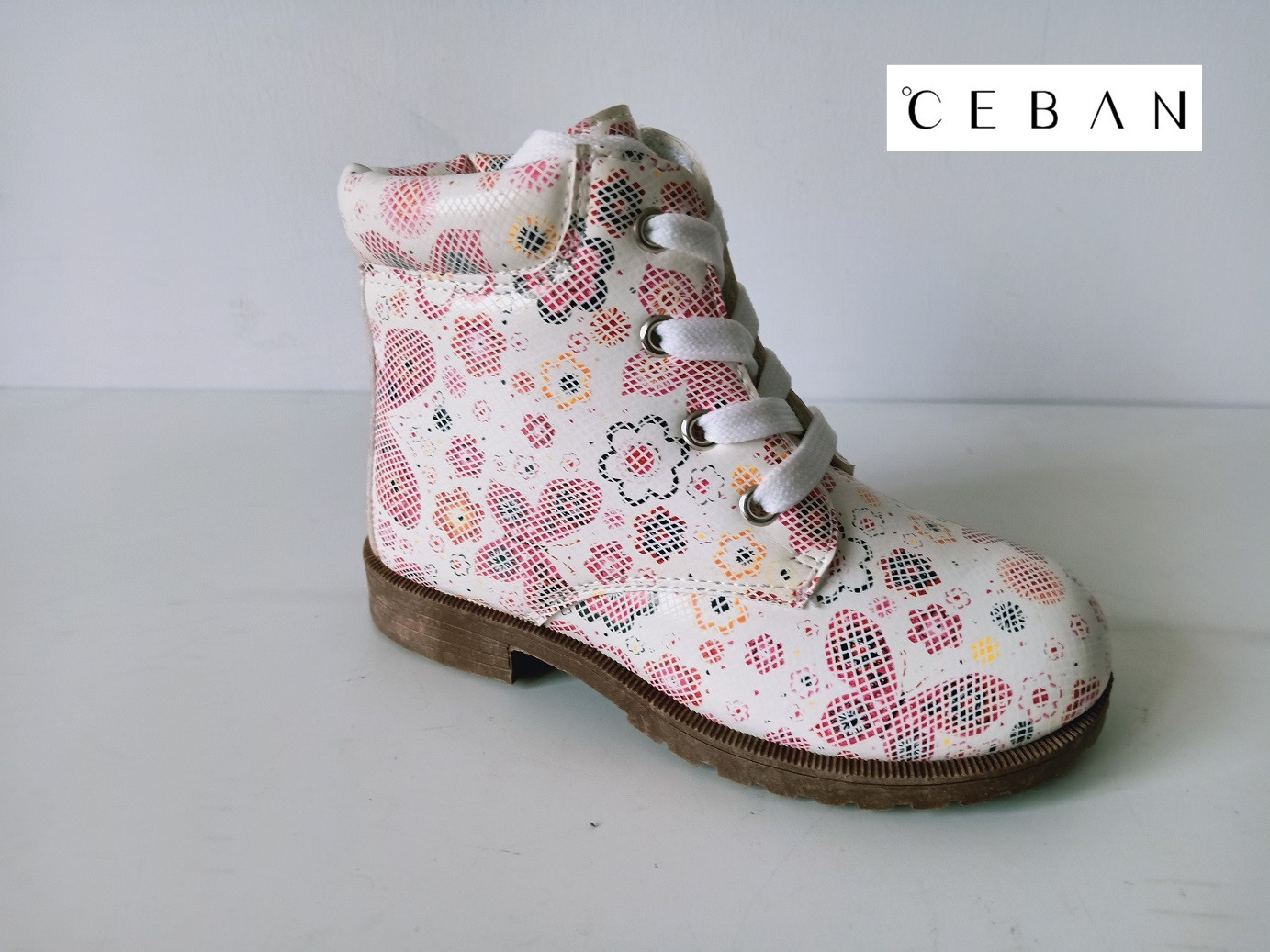 Girl's flower cute injection boots Chinese supplier