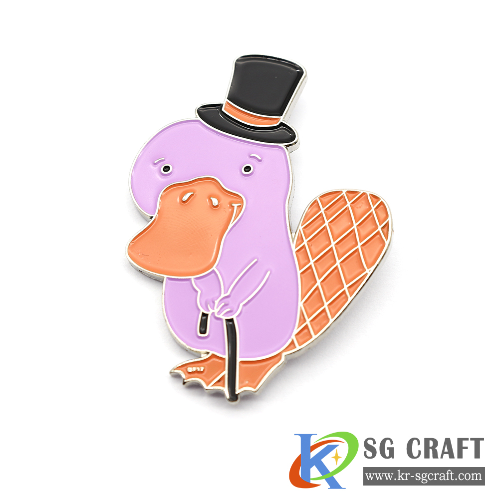 custom lapel pins soft hard design Cartoon pin badge enamel pin