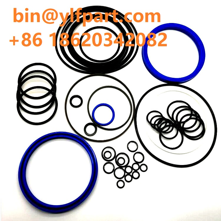 Excavator parts cylinder seal kits PC200-8 pc220-8 pc300-8 jack hammer rubber o-ring kit repair seal kit