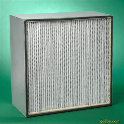 Deep Pleated High Efficiency Air Filter